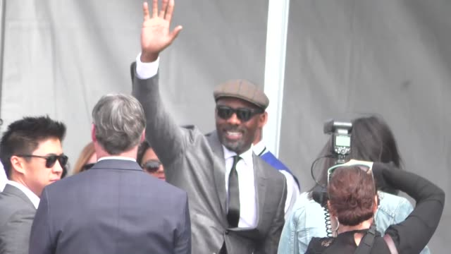 idris elba at the 2016 film independent spirit awards in santa monica at celebrity sightings in los angeles on february 27 2016 in los angeles... - film independent spirit awards stock videos & royalty-free footage