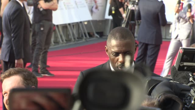 idris elba at the house of fraser british academy television awards on may 08 2016 in london england - british academy television awards stock videos & royalty-free footage