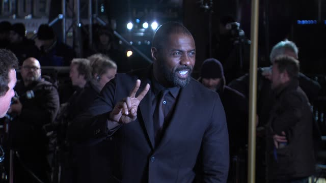 Idris Elba at the World Premiere of Les Miserables at the Odeon Leicester Square on December 5 2012 in London England