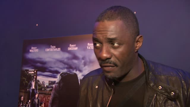 idris elba on at the Demons Never Die Premiere at London England