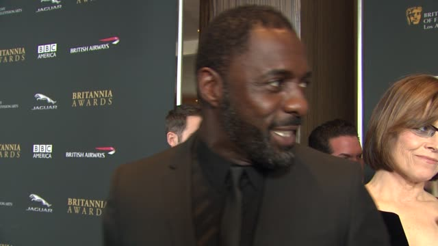 INTERVIEW Idris Elba on how he got involved with the Princes Trust at 2013 BAFTA Los Angeles Jaguar Britannia Awards Presented By BBC America in...