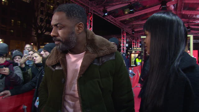 INTERVIEW Idris Elba Sabrina Dhowre on the film being a personal project being engaged to a film maker being in Berlin wanting to create a love...