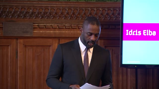 Idris Elba speech Elba speech SOT Broadcasting needs a Magna Carta / on stereotyping / on Channel 4's Conference on Diversity
