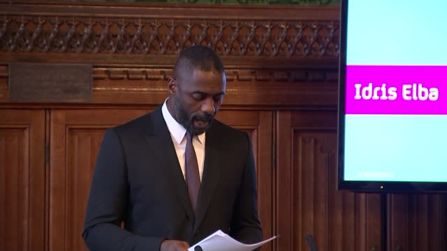 Idris Elba speech Elba speech SOT on becoming an Officer of the British Empire / on British Empire / how we can change our mindset / on what we...