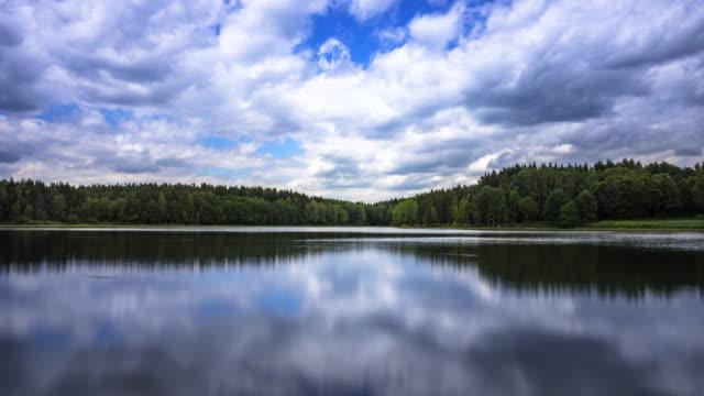 Idyllic Lake With Reflection