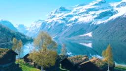 Idyllic nature of Norway