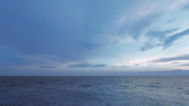 idyllic sea background - horizon over water stock videos & royalty-free footage