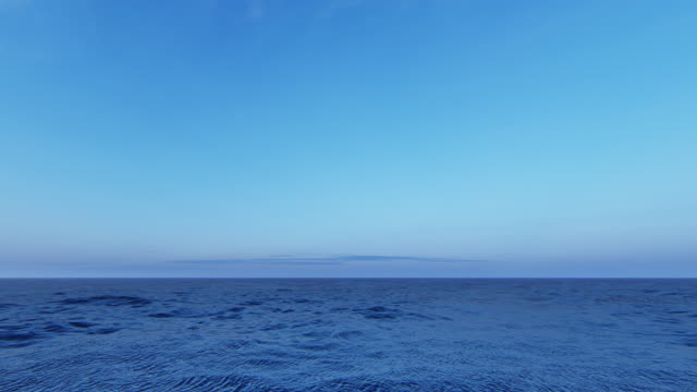 idyllic sea background - horizon over water stock videos & royalty-free footage