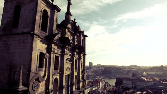 se cathedral porto - porto district portugal stock videos & royalty-free footage