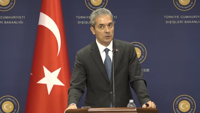 if efforts to find common ground with the us prove unsuccessful turkey will have to create a safe zone in syria on its own said turkey's foreign... - national security agency usa stock videos and b-roll footage