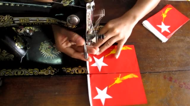 If roaring sales of his Aung San Suu Kyi Tshirts are a yardstick then businessman Swe Yie thinks Myanmar's tentative steps to democracy are on the...