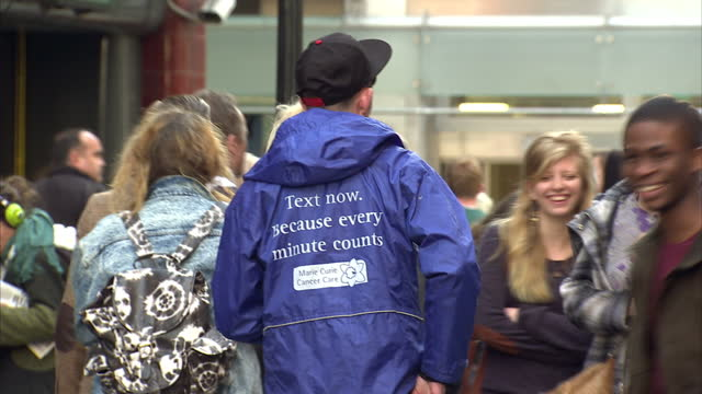 If you're visiting the shops this morning then you'll probably bump into a charity street collector They have now become constant presence on...