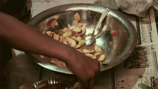 cu iftaar being prepared in holy month of ramzan / delhi, india - ramadan stock videos and b-roll footage