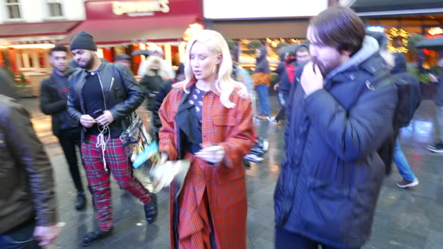 iggy azalea and alice chater at capital radio studios at celebrity sightings in london on november 25, 2019 in london, england. - arts culture and entertainment stock videos & royalty-free footage