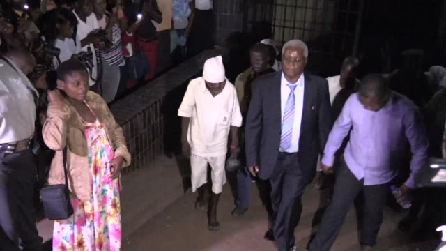 ignatius chombo the last finance minister under mugabe's government appeared in court on saturday in harare as the first mugabe loyalist to face... - harare stock videos and b-roll footage
