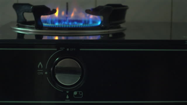 ignition gas stove 4k - ignition stock videos & royalty-free footage
