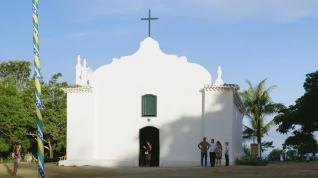 vídeos y material grabado en eventos de stock de ms igreja de sao joao batista / trancoso, brazil - colonial