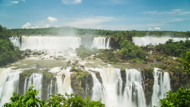iguacu falls - brazil - south america stock videos & royalty-free footage