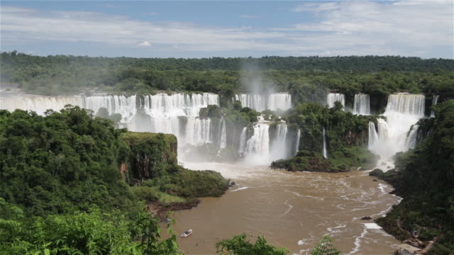 """ls iguacu falls / foz do iguacu, brazil"" - bahia state stock videos & royalty-free footage"