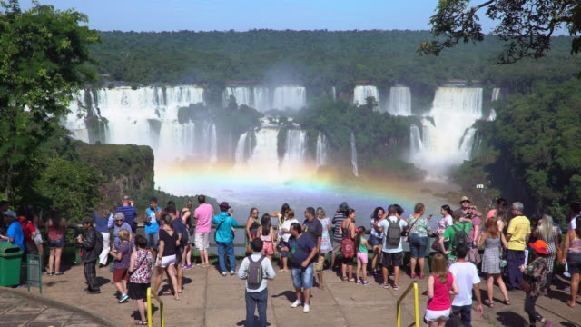 Iguacu Falls, Foz do Iguacu, Iguacu (Iguazu) National Park, Brazil, South America