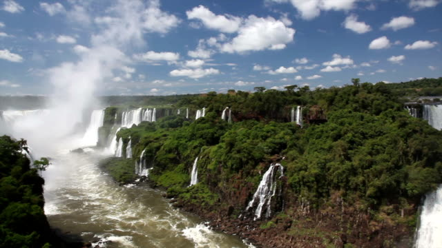 iguazu falls, brazilian side - amazon region stock videos & royalty-free footage