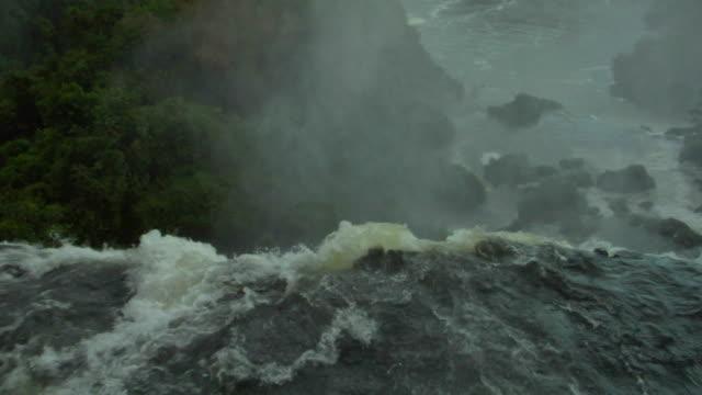 vídeos y material grabado en eventos de stock de cu ha iguazu falls, iguazu, brazil - punto de referencia natural
