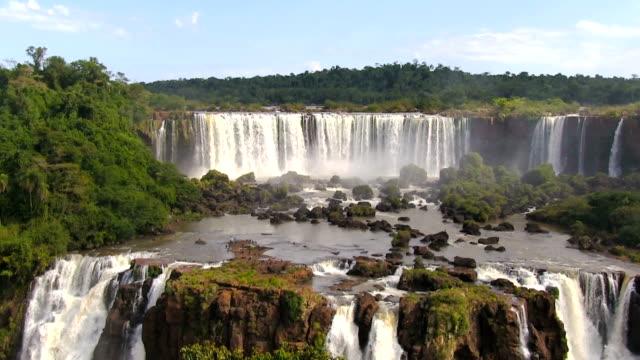 iguazu falls - national park stock videos & royalty-free footage