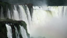 Iguazu waterfall as seen from Argentinean side