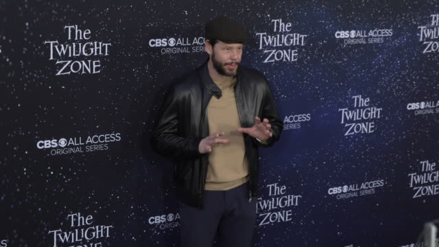 "ike barinholtz at the premiere of ""the twilight zone' at the harmony gold preview house and theater on march 26, 2019 in hollywood, california. - harmony gold preview theatre stock videos & royalty-free footage"