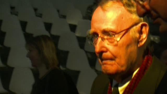 vídeos de stock, filmes e b-roll de ikea founder ingvar kamprad is determined to keep the swedish furniture giant off the stock exchange he told afp ahead of the inauguration monday of... - fundador