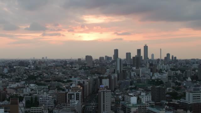 Ikebukuro City Sunset