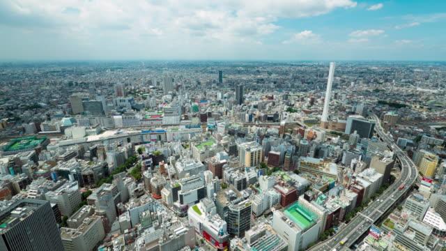 Ikebukuro city time laspe
