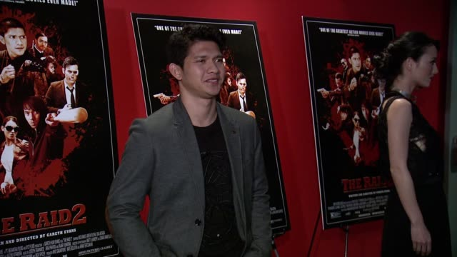 Iko Uwais at The Raid 2 New York Screening at Sunshine Landmark on March 17 2014 in New York City