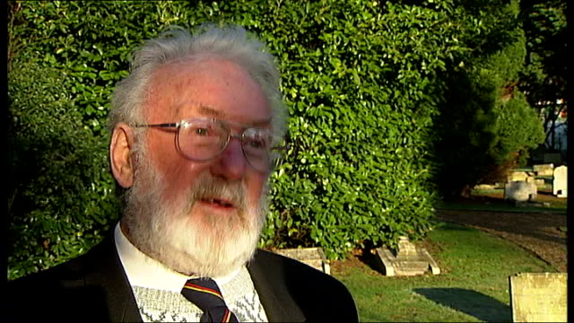 ilford animal cemetery refurbished with itv's people's millions winnings bob reeves interview sot - winnings stock videos and b-roll footage