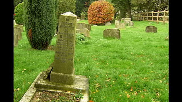 Ilford Animal Cemetery refurbished with ITV's People's Millions winnings ENGLAND Essex Ilford Animal Cemetery EXT Delapidated headstones and graves...