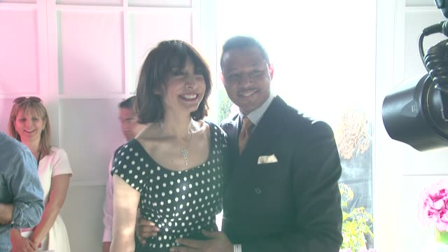 illeana douglas terrence howard at piaget at the 2012 film independent spirit awards on 2/25/12 in los angeles ca - terrence howard stock videos and b-roll footage