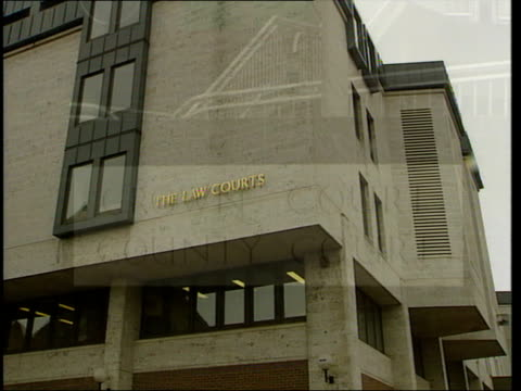 illegal immigrants give evidence against dutch driver itn dover maidstone gvs court building - maidstone stock videos and b-roll footage