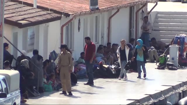 174 illegal migrants are captured by turkish coast guard in kusadasi district of turkey's aydin while they were illegally trying to reach greece on... - aydın province stock videos and b-roll footage