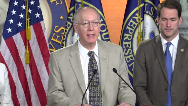 illinois congressman bill foster says at a press conference releasing the future that works that work is the foundation upon which the nation was... - economy class stock videos & royalty-free footage