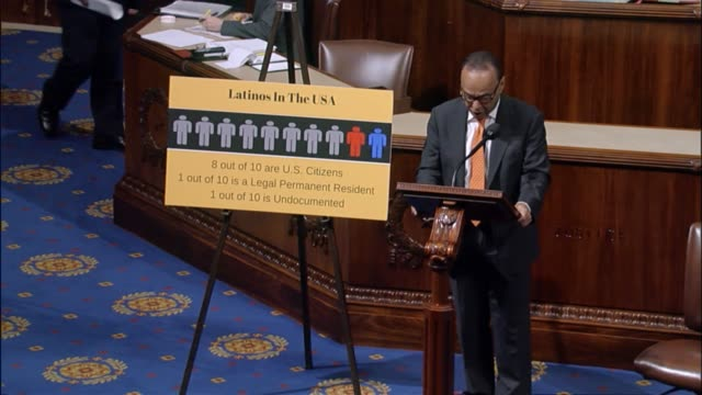 illinois congressman luis gutierrez argues against a bill that would rescind federal grants to sanctuary cities because since president donald trump... - sanctuary city stock videos & royalty-free footage