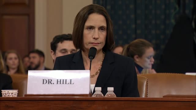 illinois congressman raja krishnamoorthi asks witness fiona hill at the seventh public impeachment inquiry hearing of the house select intelligence... - witness stock videos & royalty-free footage