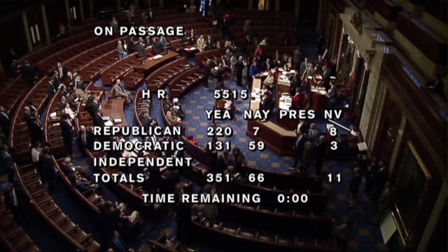 illinois congressman randy hultgren announces the 35166 vote to pass the fiscal 2019 national defense authorization after three days of debate in the... - house of representatives stock videos & royalty-free footage
