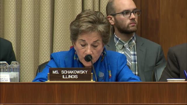 Illinois Congresswoman Jan Schakowsky says is an oversight hearing of a House Energy and Commerce subcommittee that a data breach into its systems...