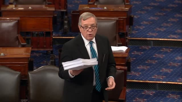 Illinois Senator Dick Durbin says as the tax cuts and jobs act was primed for votes that justreleased text with lastminute changes written by and is...
