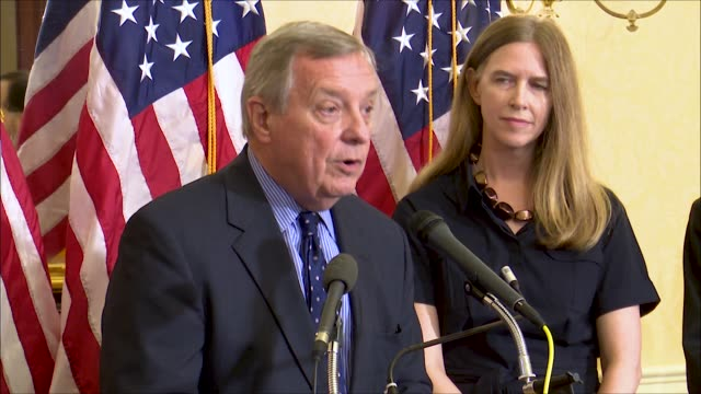 Illinois Senator Dick Durbin says at a news event of Supreme Court nominee Brett Kavanaugh that he had inquired of Kavanaugh of his role in detaining...