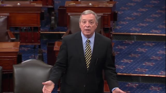 illinois senator dick durbin says days before a fifth hearing with supreme court nominee judge brett kavanaugh amid sex abuse allegations that the... - dick durbin stock videos & royalty-free footage