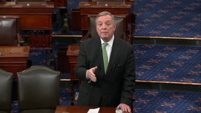 Illinois Senator Richard Durbin argues hours before a potential shutdown that there is more to the Dreamer issue then illegal immigration in the...