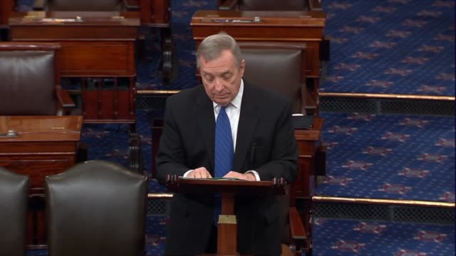 Illinois Senator Richard Durbin says after Supreme Court Justice Antonin Scalia died that the Republican would leave his seat vacant for a year not...