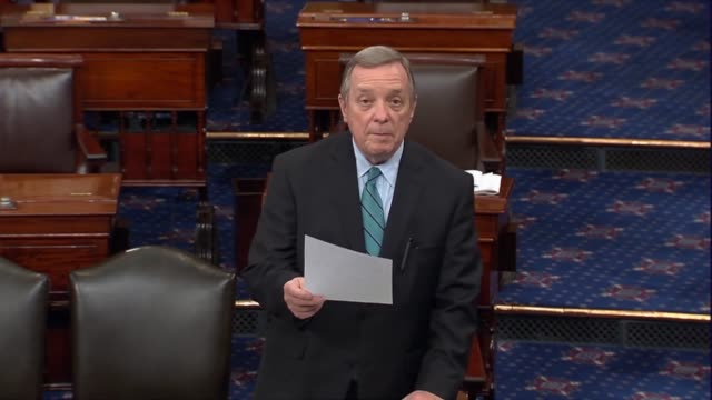Illinois Senator Richard Durbin says the Judiciary Committee has an important role in Supreme Court nominees that Vermont Senator Pat Leahy had...