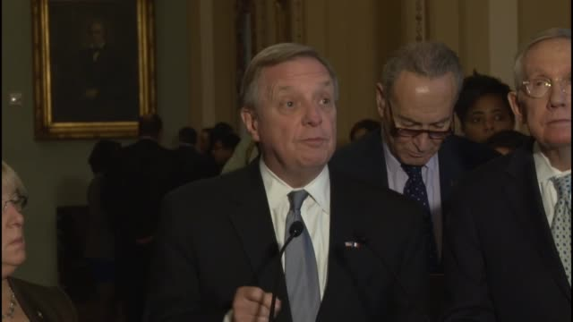 Illinois Senator Richard Durbin says the terrorist attacks in Paris France is a reminder of the obligation to keep America safe says that 70000...